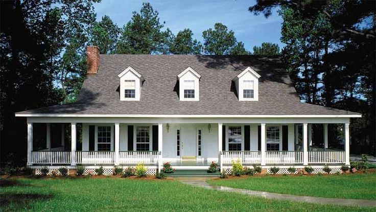 Farmhouse House Plan with 2162 Square Feet and 3 Bedrooms(s) from Dream Home Source | House Plan Code DHSW46893