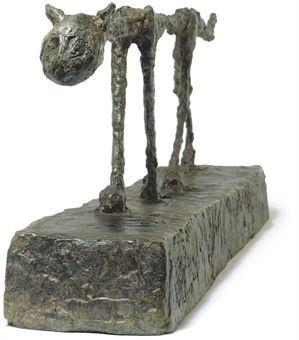 Le chat Alberto Giacometti