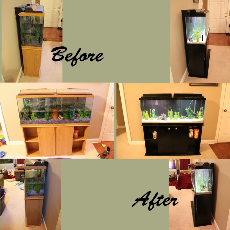 How To Paint Pressboard Kitchen Cabinets: 25+ Best Ideas About Fish Tank With Stand On Pinterest