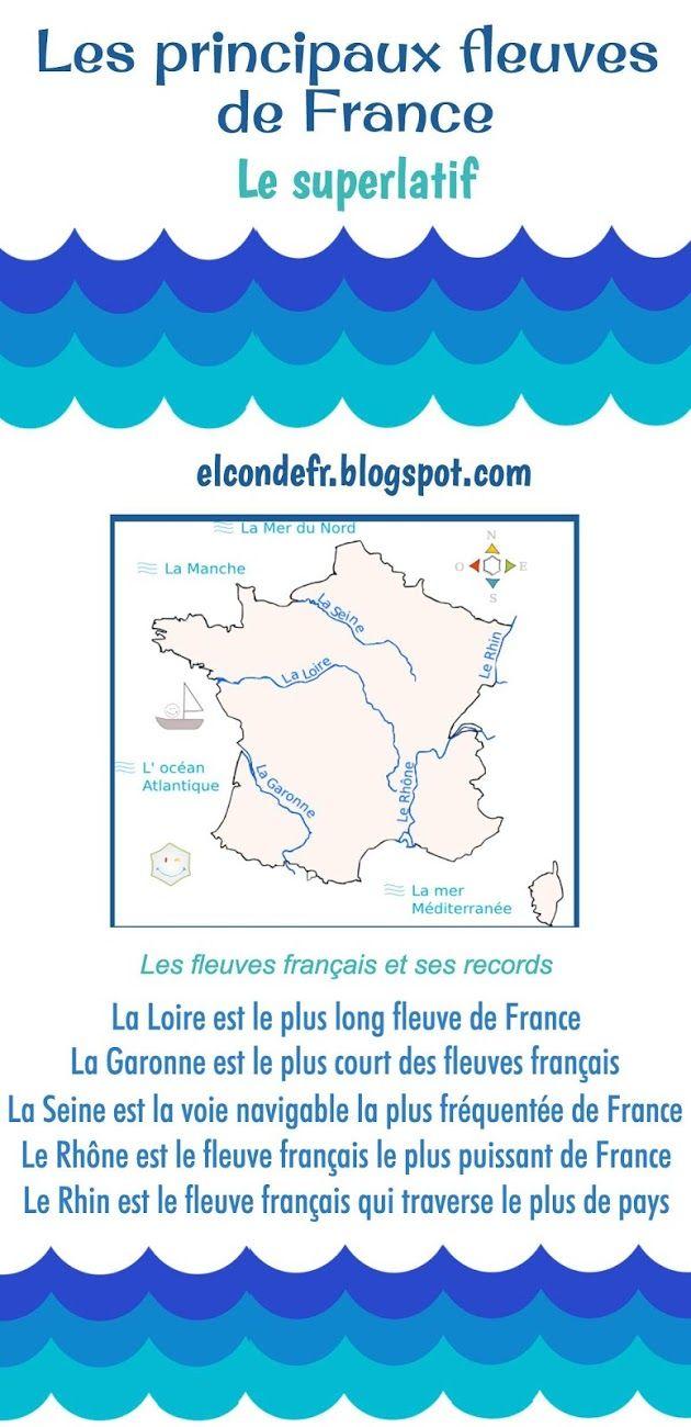 El Conde. fr: Les fleuves français et ses records