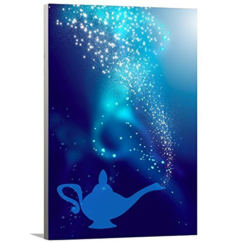 """Home Décor Canvas Wall Art Ready to Hang Great Gift Idea Disney Inspired Aladdin Abstract Wall Art for Kitchen Living Room Bedroom Hallway 10""""x12"""" by Artzee Designs Artzee Designs http://www.amazon.com/dp/B00T13N978/ref=cm_sw_r_pi_dp_mZV7wb0ZNK8JX"""