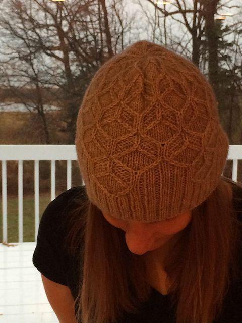 Ravelry: beckycalifornia's Beeswax hat