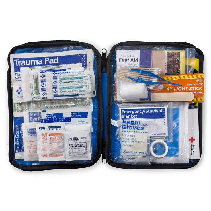 First Aid Only Soft Pack Auto First Aid Kit - 143 Pieces - FAO-552