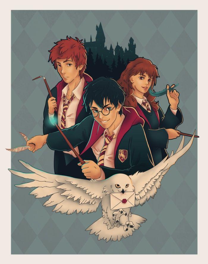 <b>harry potter</b>, <b>hermione</b>, <b>ron, weasley</b>, <b>granger</b>, hogwarts, hedwig ...