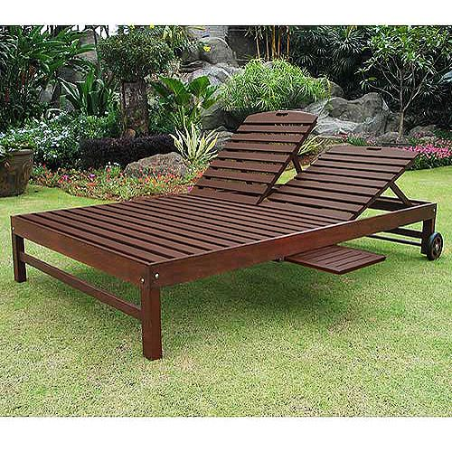 Patio lounge chair plans woodworking projects plans for Belmont brown wicker patio chaise lounge