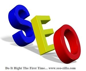 SEO - Do It Right The 1st Time..