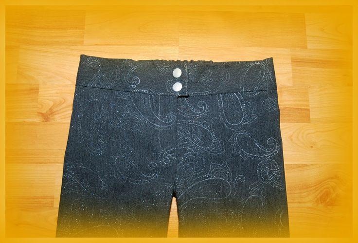 Kaikki yhdest Koo'st: Housun vetoketjun ja vyötärökaitaleen ompeluohje! / How to sew an easiest zipper slit ever!