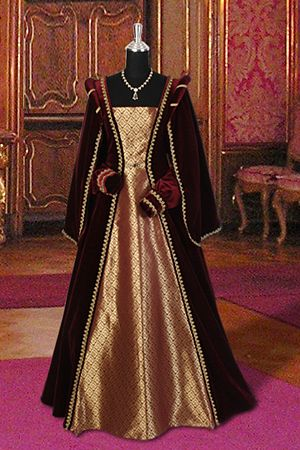 medieval red dress - Buscar con Google