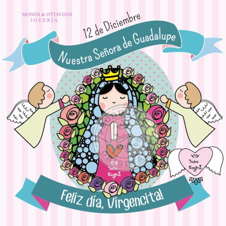 Hoy es el día de la Virgencita de #Guadalupe! Ella es patrona de México y de todo Latinoamérica. Madre nuestra, ruega por nosotros, feliz día!