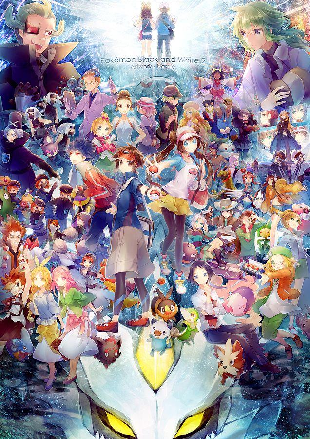 Pokemon BW2!!! by Namie-kun.deviantart.com on @deviantART