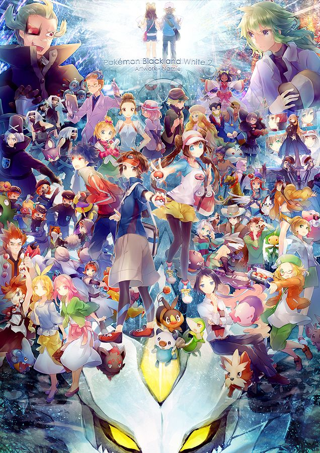 Pokemon BW2!!! by =Namie-kun on deviantART