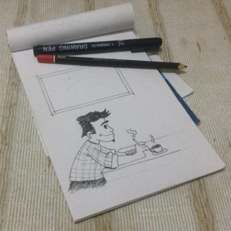 Sketch for KOJAK SARUK JATENG  #sketch #sketching #sketcher #design #graphicdesign #desain #desaingrafis #semarang #bleed #syndicate #bleedsyndicate #2016 #bleedsyndicate2016