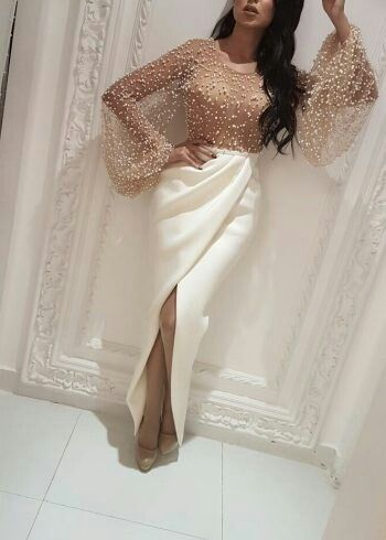 Love the shirt bodysuit Prom Dresses With Sleeves b80030511775