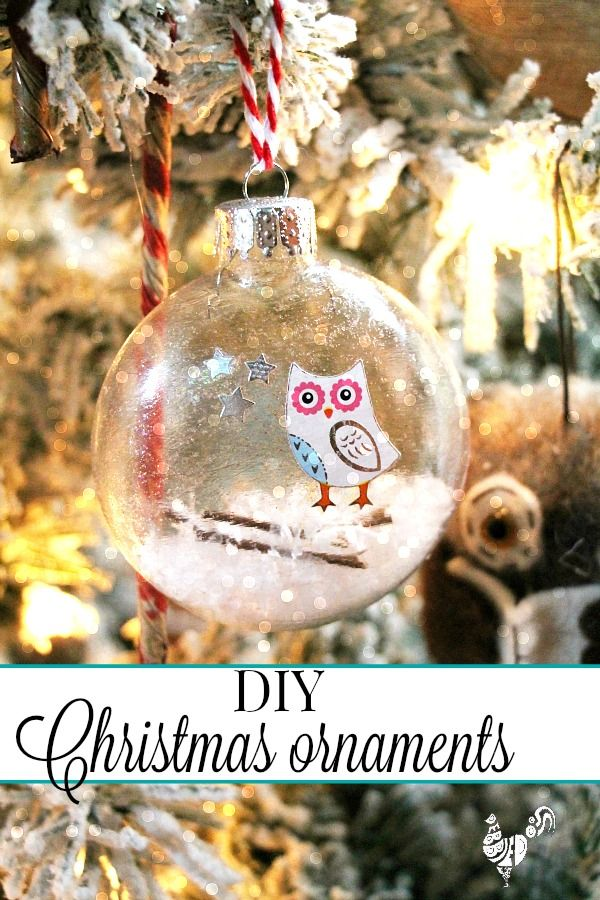 How to make your own Christmas ornaments | DIY Christmas
