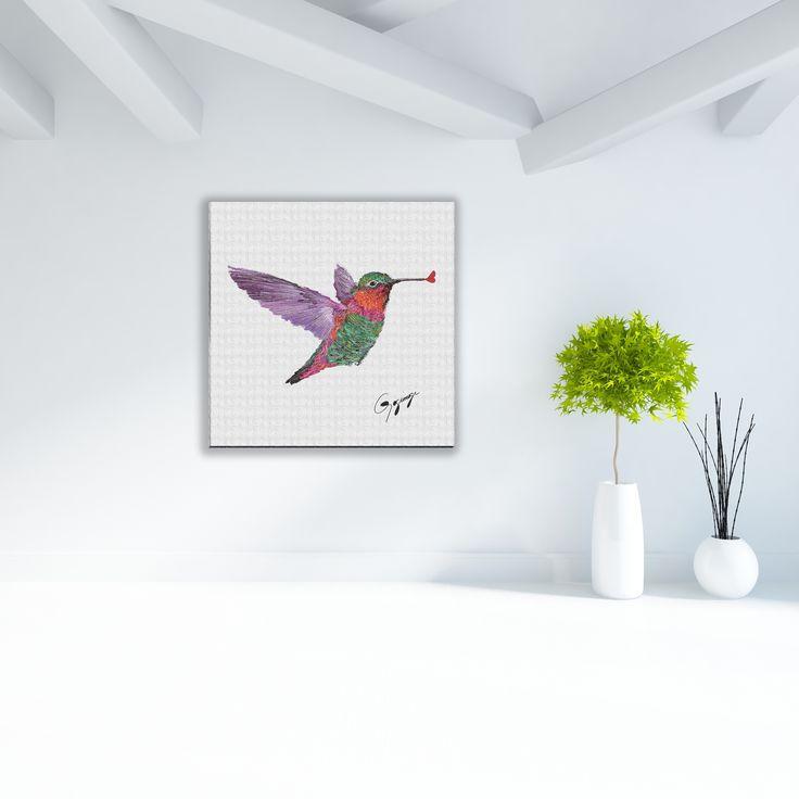 Beauty can be fun with Gogimogi's Hummingbird.  Gogimogi, The Artistically Geeky Design House.