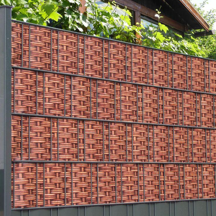 14 besten Gartenzaun und Sichtschutz Bilder auf Pinterest Garten - sichtschutzzaun aus kunststoff gute alternative holzzaun