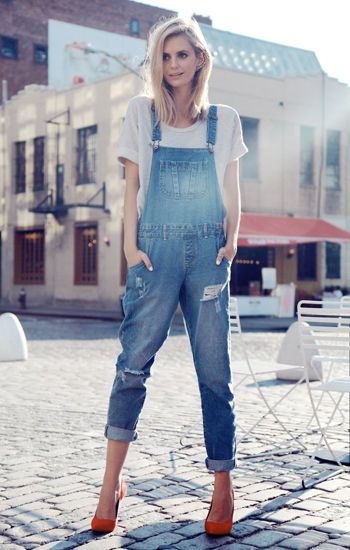 Street Style Spotlight: 25 Stylish Women Who Will Make You Reconsider Overalls