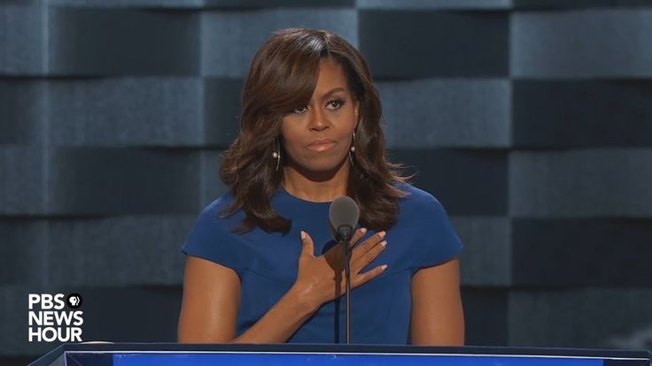 Watch first lady Michelle Obama's full speech at the 2016 Democratic Nat...Powerful--Knocked it out the Park!