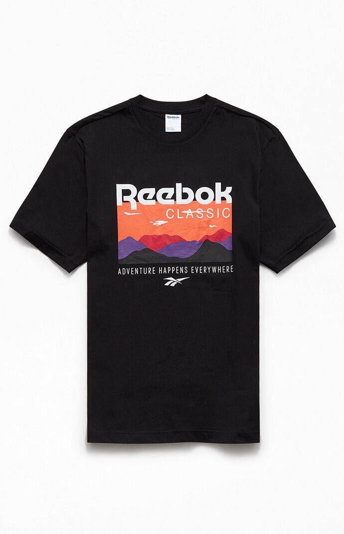 Reebok Black Classics Trail T-Shirt | T