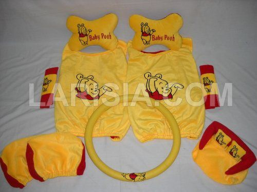 Bantal Mobil 6 in 1 Baby Pooh