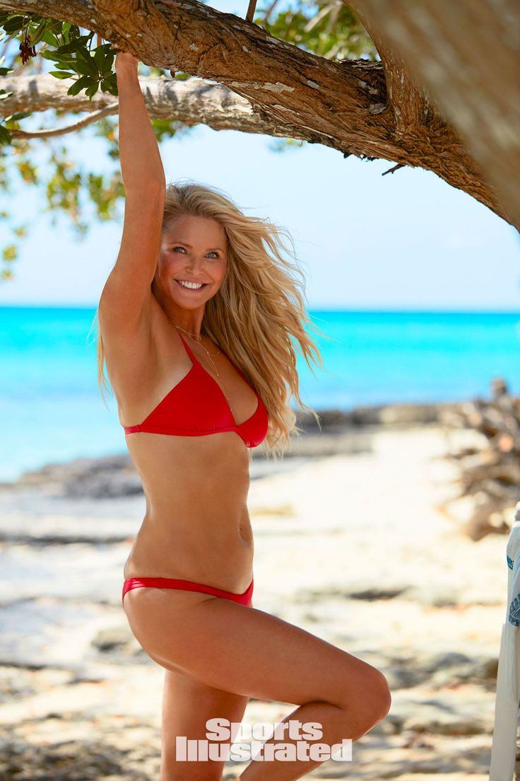 Christie Brinkley #ChristieBrinkley in Bikini  SI Swimsuit 2017 Celebstills Bikini C Christie Brinkley
