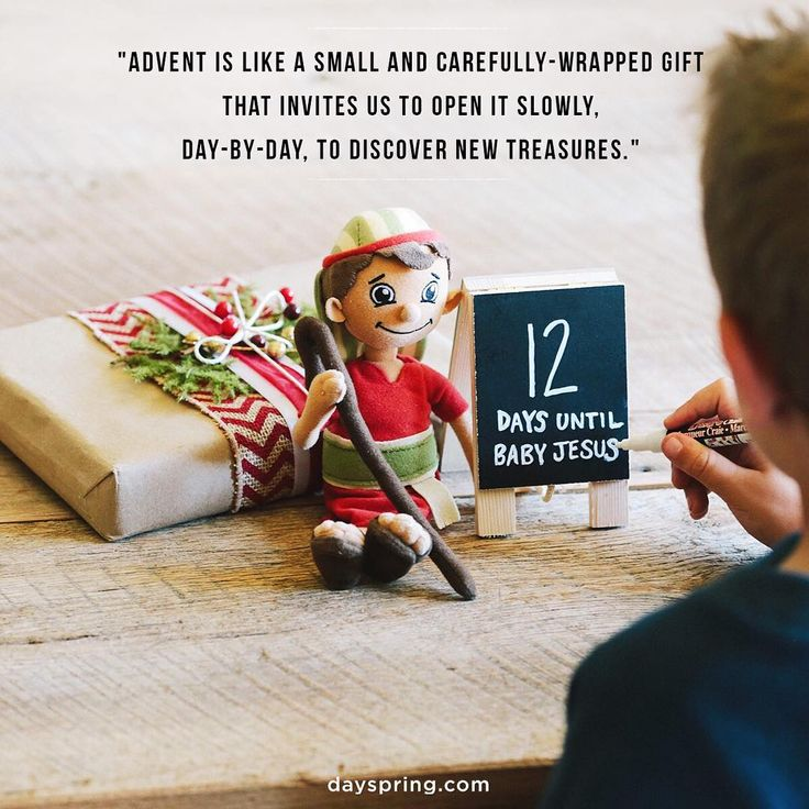 Advent is like a small and carefully-wrapped gift that invites us to open it slowly, day-by-day, to discover new treasures inside each year. It's the quiet, magnificent story unfolding beneath all the shopping and celebrating. It's the real journey that will still be beautiful and true when everything else passes away.