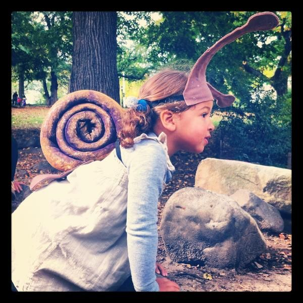 Homemade Snail Costume Follow Up | My Brooklyn Baby - Modern Essentials for the Early Years