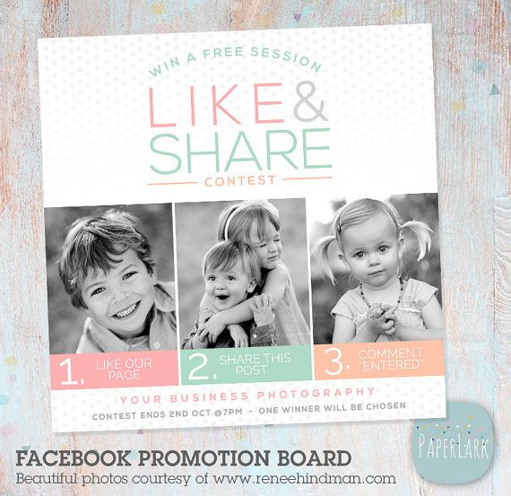 Boost your Facebook engagement!! Receive new Likers and get your existing Likers to SHARE your content! Use this board to post to your Facebook