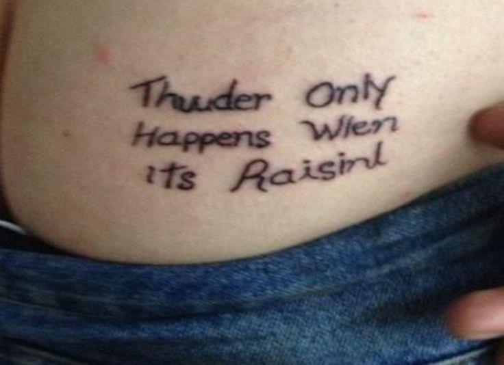 103 besten tattoos with mistakes in 39 em bilder auf pinterest falsch geschriebene tattoos. Black Bedroom Furniture Sets. Home Design Ideas