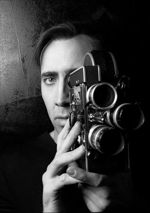 Nicolas Cage behind the camera