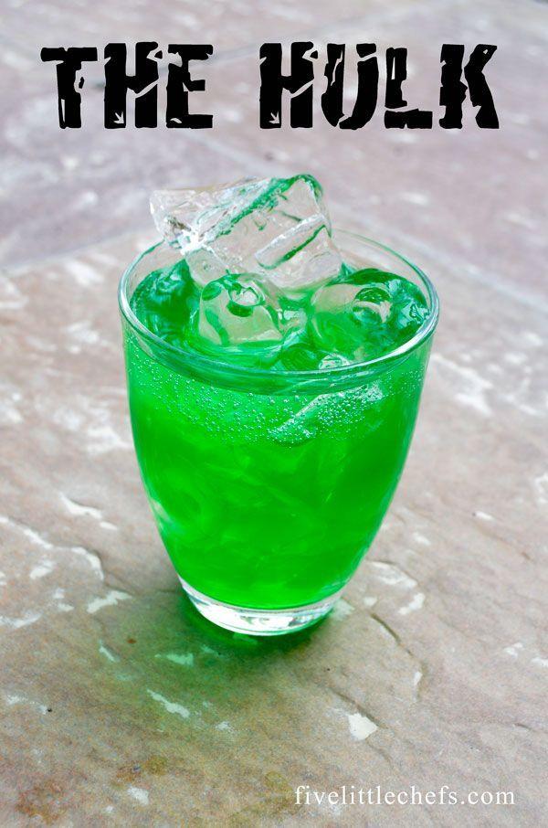 Avengers Party Drinks   – Likör