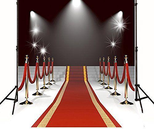 5x6.5ft Spot Lights Stage Red Carpet Entrance Wedding Rail Custom Photography Studio Backdrop Background yy114, http://www.amazon.com/dp/B01GBCUOJM/ref=cm_sw_r_pi_awdm_x_xDnWxbPMGT7YS
