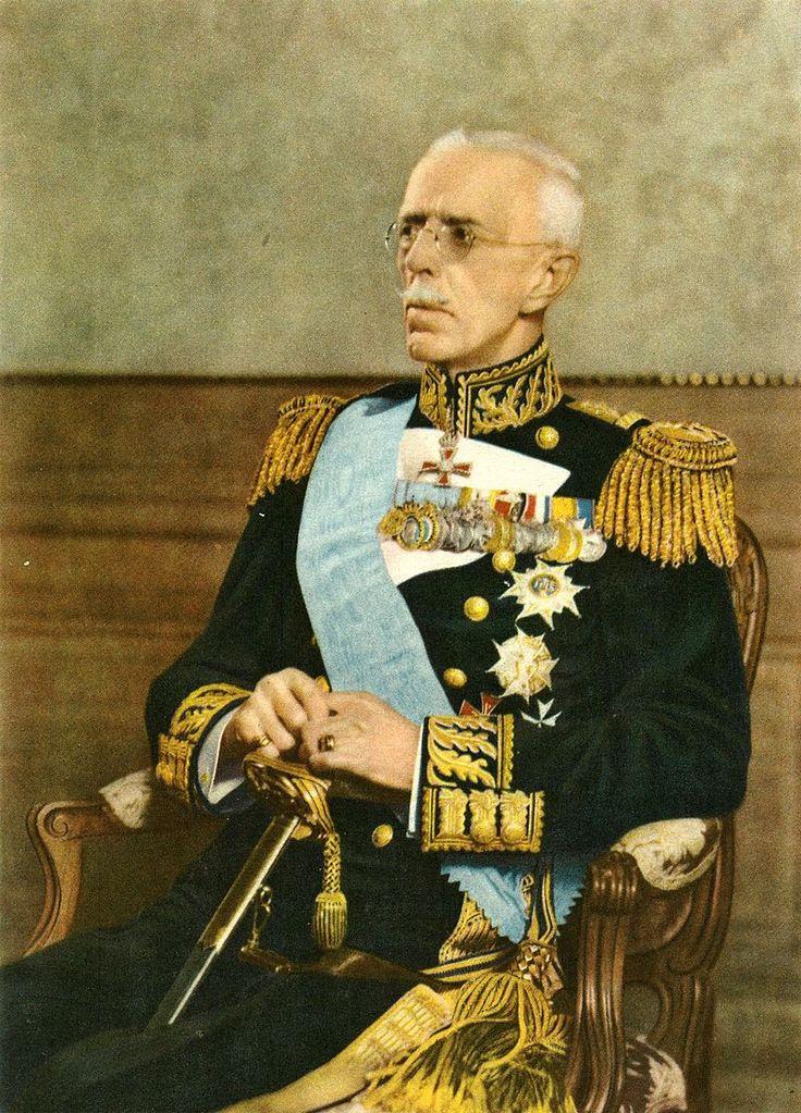 King Gustaf V of Sweden