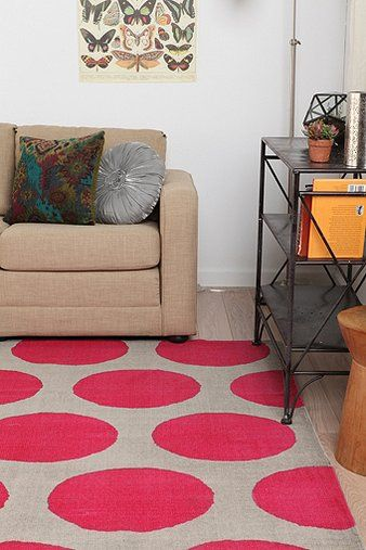 Magical Thinking Giant Dot Rug $89 urban outfitters - love this