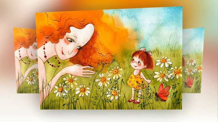 (✿◠‿◠) Ромашки. Картинки Виктории Кирдий. #ромашки #camomile #flower #ромашки #кирдий