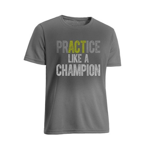 Act lie a champion changes to practice like a champion #workout