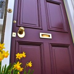 8 impresionantes colores Puerta principal