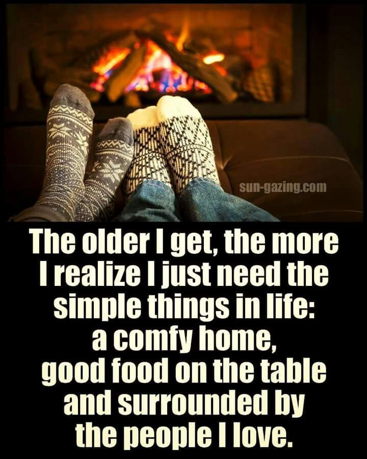 So True! I Love Being In The Comfort Of Our Home. Nothing