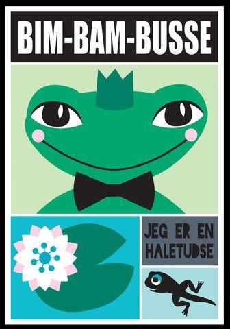 Bim bam busse, A3 – Mini Zoo by Nynne Adelborg