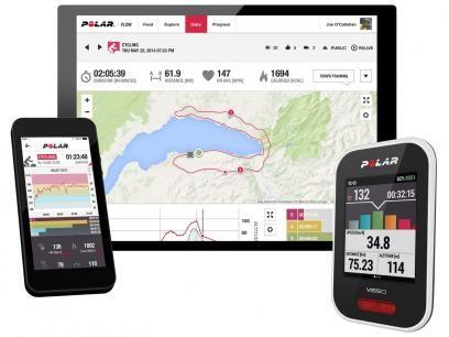 Monitor Cardíaco V650 HR Polar GPS - Contador de Calorias Resistente a Água com as melhores condições você encontra no Magazine Edmilson07. Confira!