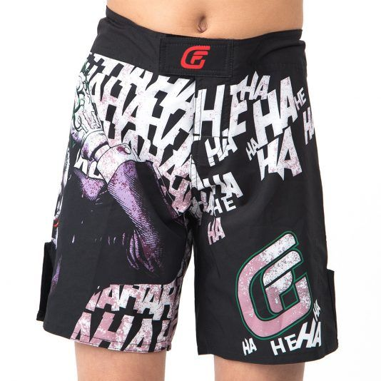 These officially licensed Fusion Fight Gear Batman The Killing Joke kids board shorts are meant for No Gi BJJ, grappling, MMA, surfing, swimming, the gym, running, or just hanging out with the rest of your Justice League buddies. #batman #batmanthekillingjoke #kidsshorts #shorts #bjj #mma