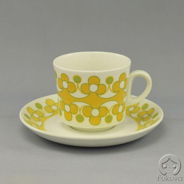 Arabia Anna コーヒーカップ (黄色)
