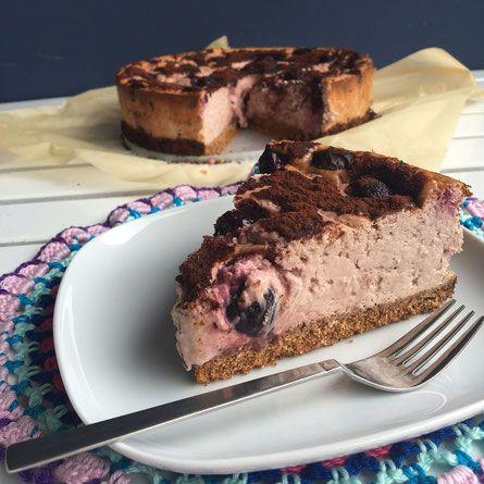 Chocolade kersen cheesecake - De website van zonderfratsen!