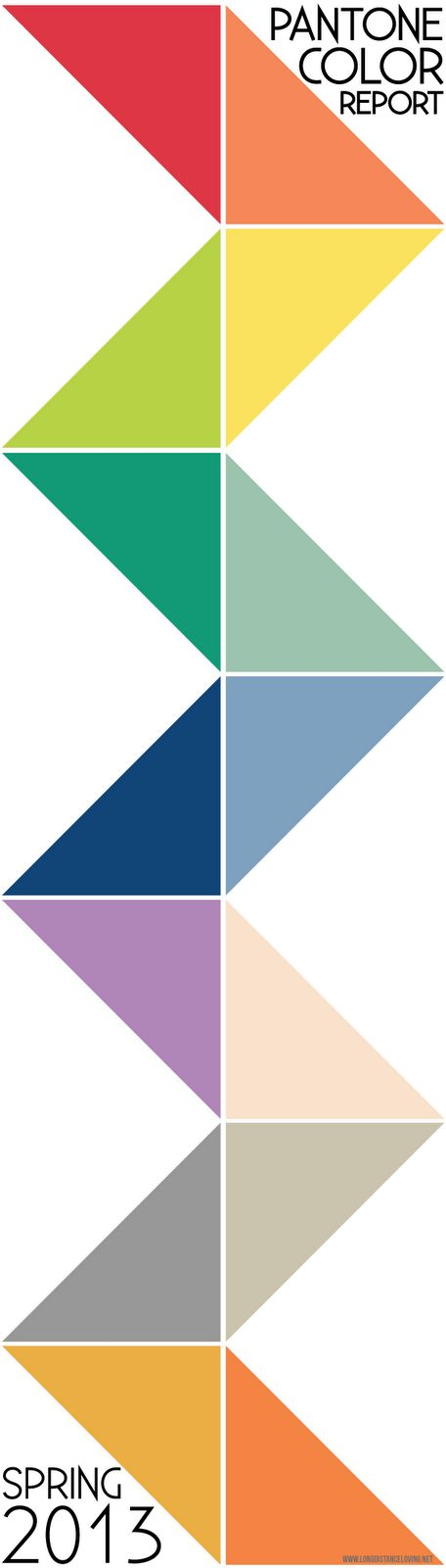 Pantone Color Report: Spring 2013