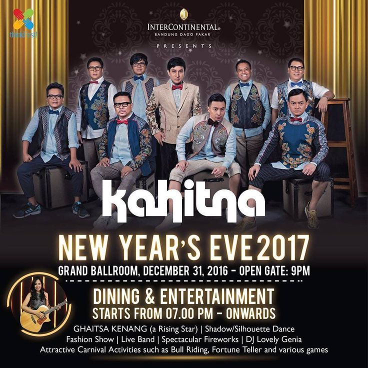 KAHITNA - New Year's Eve 2017