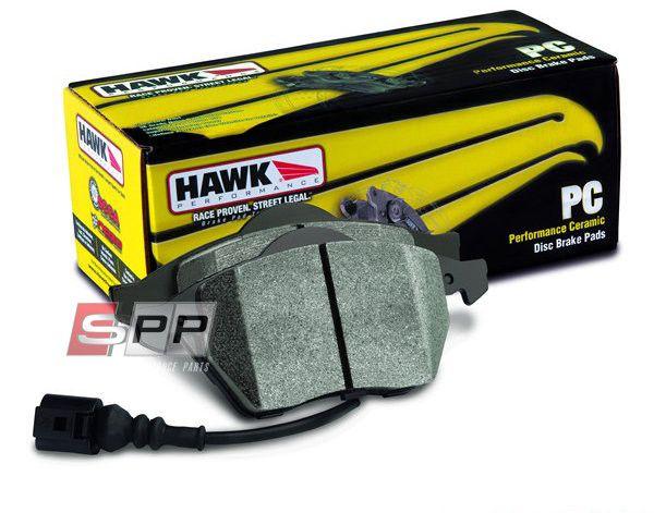 Hawk PC Ceramic Brake Pads - Front (With Pad Wear Sensor)