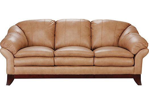 Romero Toffee Leather Sofa at Rooms To Go.   Home   Pinterest   Negozi,  Pelle e Mobili. - Romero Toffee Leather Sofa At Rooms To Go. Home Pinterest