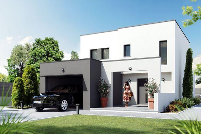 11 best Façades images on Pinterest House facades, Modern homes