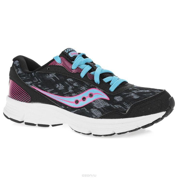 Купить кроссовки Saucony, цвет: синий, розовый. Кроссовки для бега женские Grid Sapphire. S15220-5 - цена в интернет-магазине обуви OZON.ru