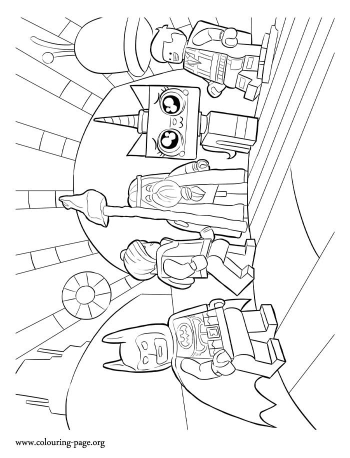 Coloring Pages Lego Frozen : In this lego movie coloring page you will find lord